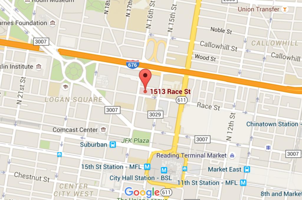 1513 Race Street Philadelphia, PA 19102